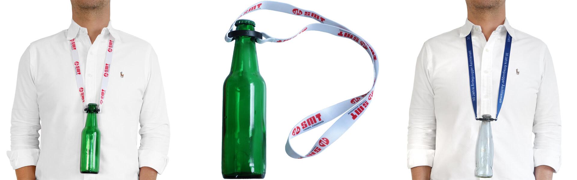lanyards flaschenhalter schluesselbaender