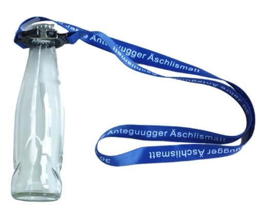 schluesselband mit verstellbarem flaschenhalter